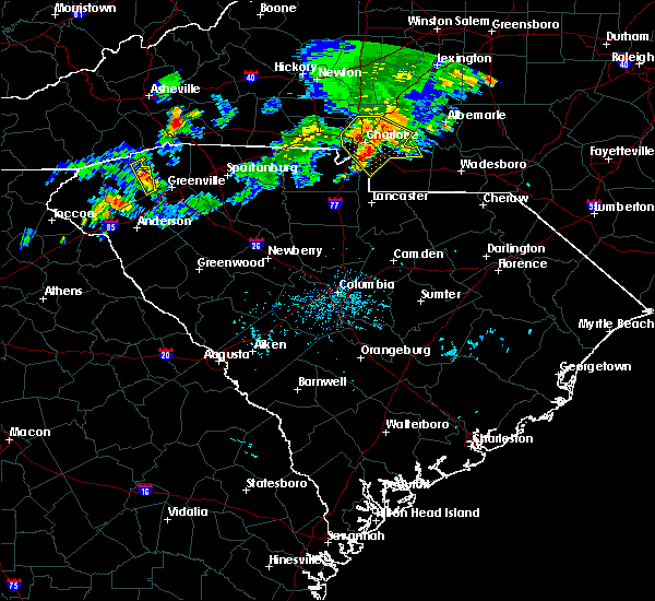 Radar Image for Severe Thunderstorms near Marvin, NC at 6/13/2017 6:20 PM EDT