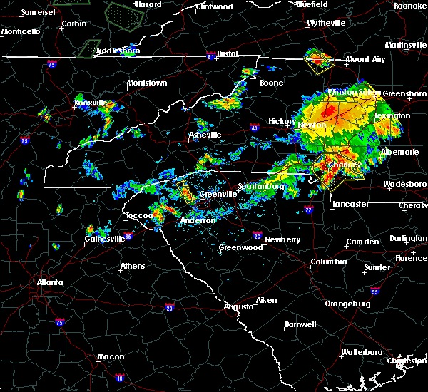 Radar Image for Severe Thunderstorms near Welcome, SC at 6/13/2017 6:21 PM EDT
