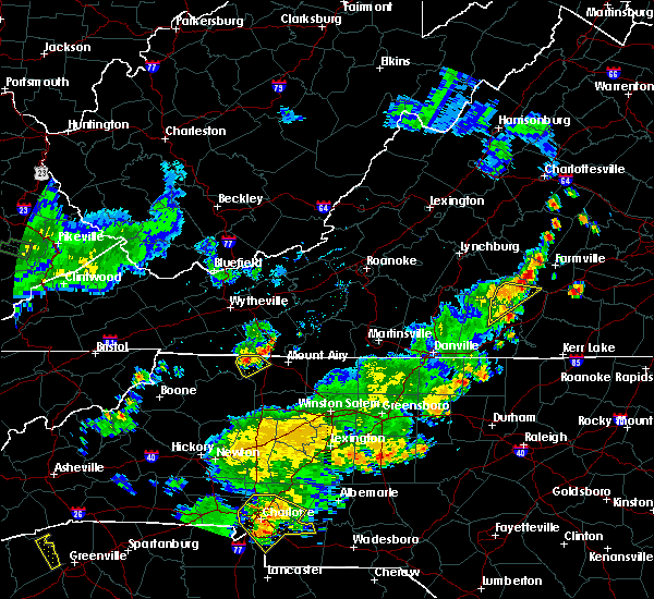 Radar Image for Severe Thunderstorms near Lowgap, NC at 6/13/2017 6:32 PM EDT