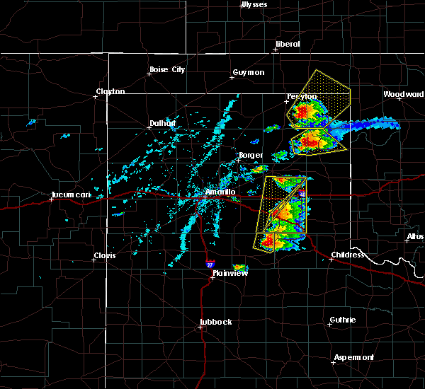 Radar Image for Severe Thunderstorms near Canadian, TX at 6/13/2017 5:35 PM CDT