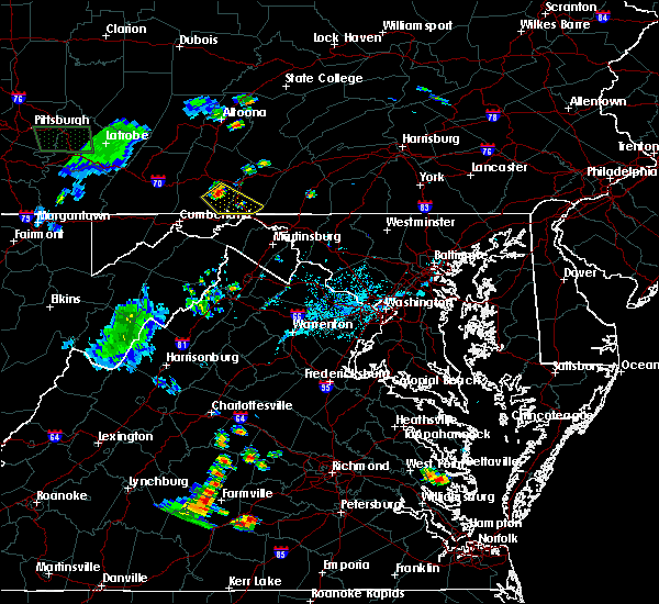 Radar Image for Severe Thunderstorms near Rainsburg, PA at 6/13/2017 6:46 PM EDT