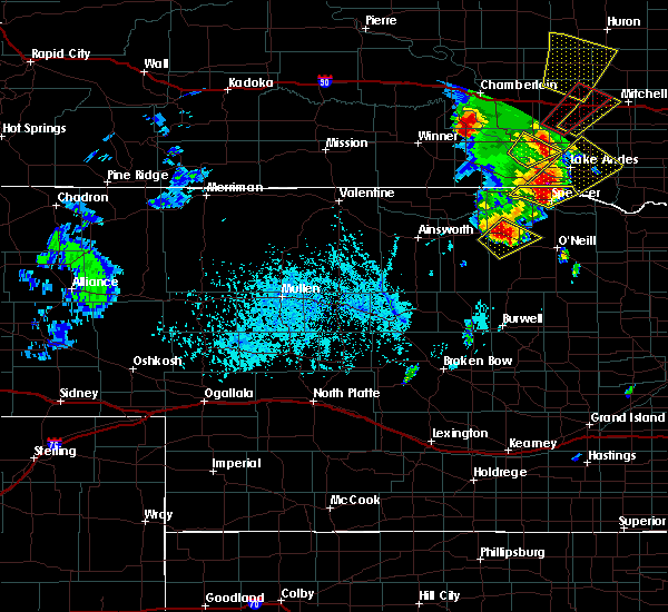 Radar Image for Severe Thunderstorms near Atkinson, NE at 6/13/2017 5:50 PM CDT