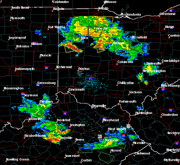 Radar Image for Severe Thunderstorms near Sidney, OH at 6/13/2017 7:28 PM EDT