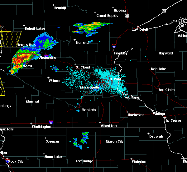 Radar Image for Severe Thunderstorms near Morris, MN at 6/13/2017 7:20 PM CDT