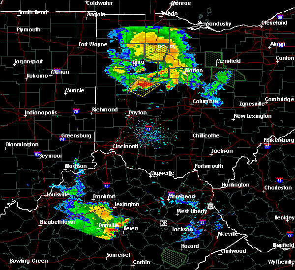 Radar Image for Severe Thunderstorms near Jackson Center, OH at 6/13/2017 8:20 PM EDT