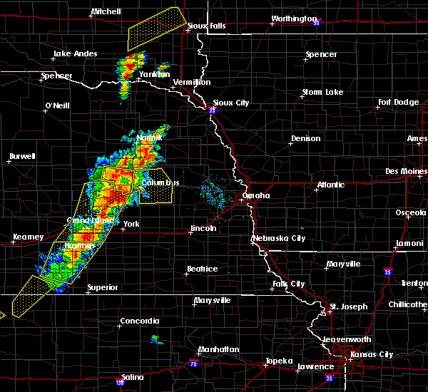 Radar Image for Severe Thunderstorms near Lakeview, NE at 6/13/2017 8:11 PM CDT
