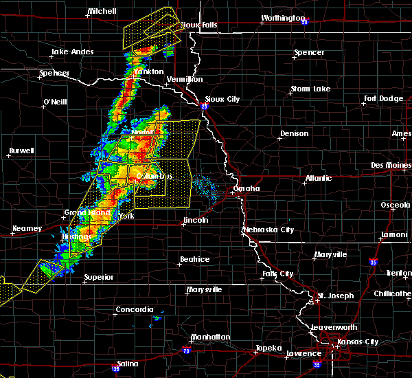 Radar Image for Severe Thunderstorms near St. Edward, NE at 6/13/2017 8:28 PM CDT