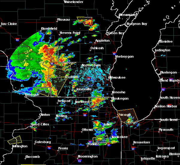 Radar Image for Severe Thunderstorms near Madison, WI at 6/14/2017 2:09 PM CDT