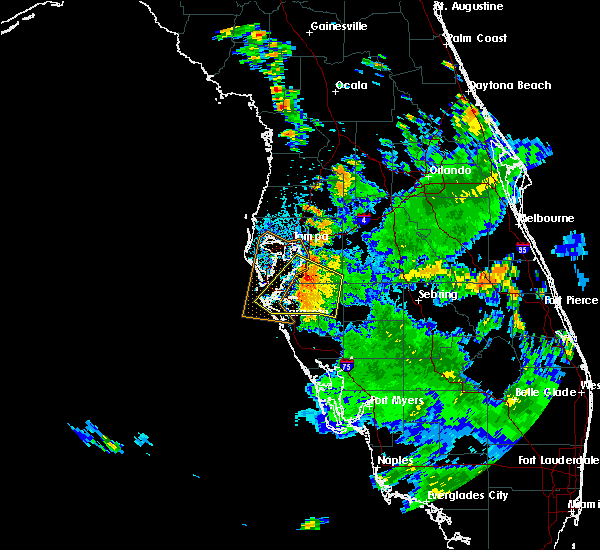 Radar Image for Severe Thunderstorms near Tampa, FL at 6/14/2017 3:39 PM EDT