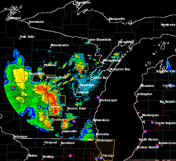 Radar Image for Severe Thunderstorms near Arpin, WI at 6/14/2017 2:40 PM CDT