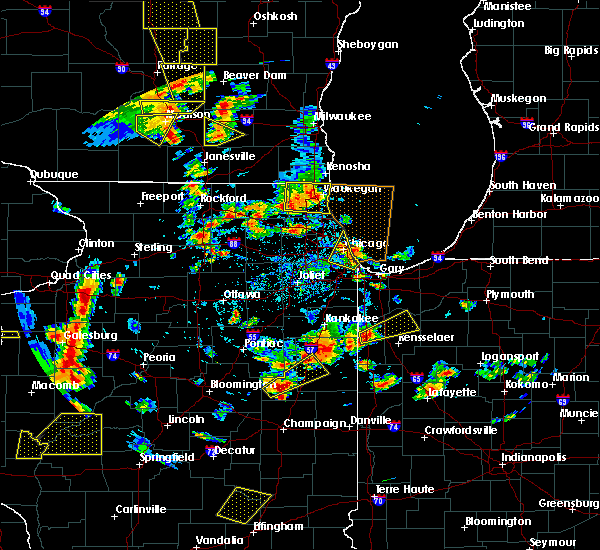 Radar Image for Severe Thunderstorms near Round Lake, IL at 6/14/2017 2:46 PM CDT