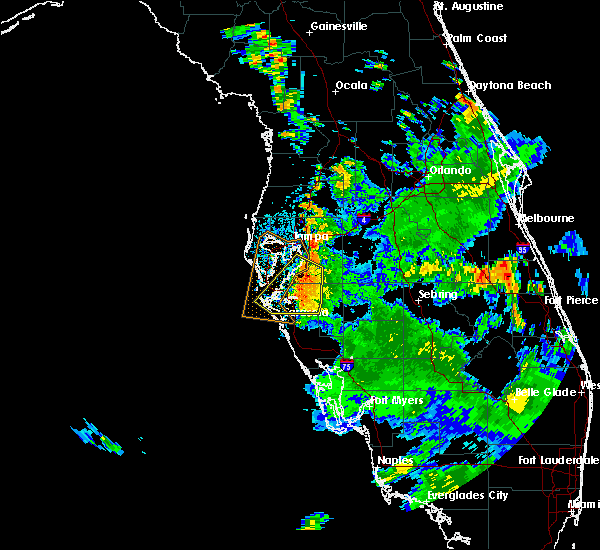 Radar Image for Severe Thunderstorms near Tampa, FL at 6/14/2017 3:49 PM EDT