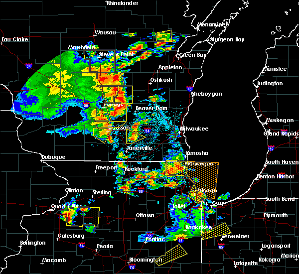 Radar Image for Severe Thunderstorms near Cambria, WI at 6/14/2017 2:50 PM CDT