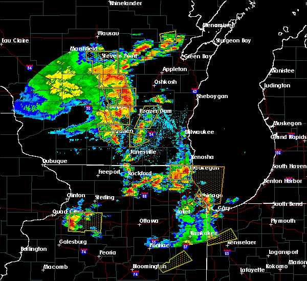 Radar Image for Severe Thunderstorms near Waupun, WI at 6/14/2017 2:52 PM CDT
