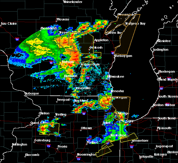 Radar Image for Severe Thunderstorms near Waupun, WI at 6/14/2017 3:02 PM CDT