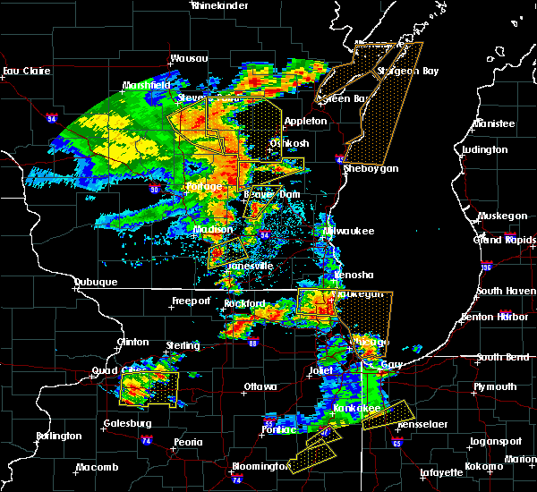Radar Image for Severe Thunderstorms near Stoughton, WI at 6/14/2017 3:06 PM CDT