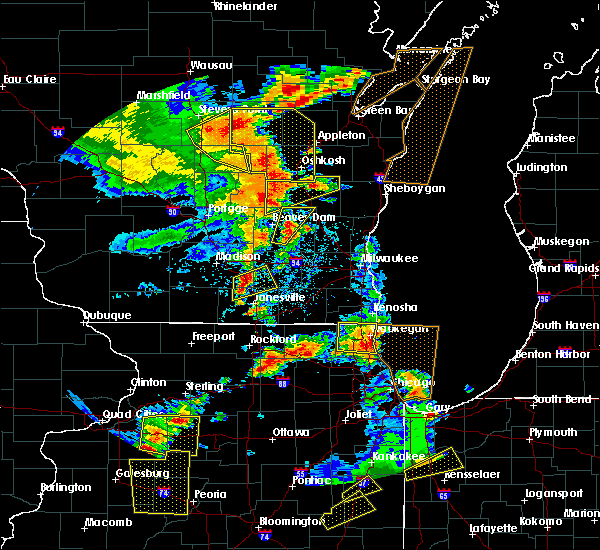 Radar Image for Severe Thunderstorms near Waupun, WI at 6/14/2017 3:09 PM CDT