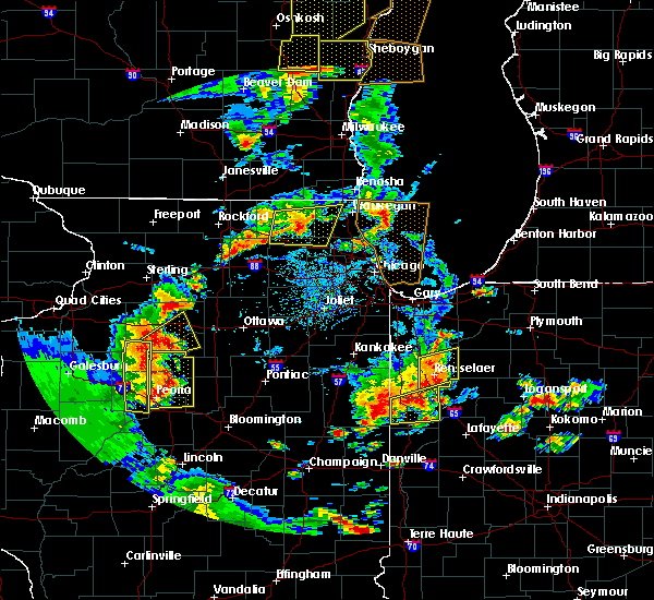 Radar Image for Severe Thunderstorms near Elgin, IL at 6/14/2017 3:51 PM CDT