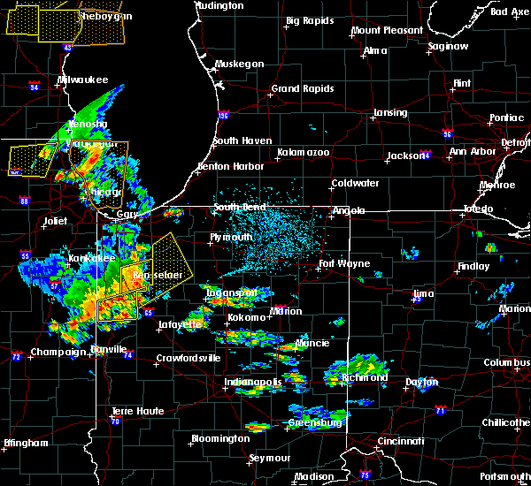 Radar Image for Severe Thunderstorms near Winamac, IN at 6/14/2017 4:56 PM EDT