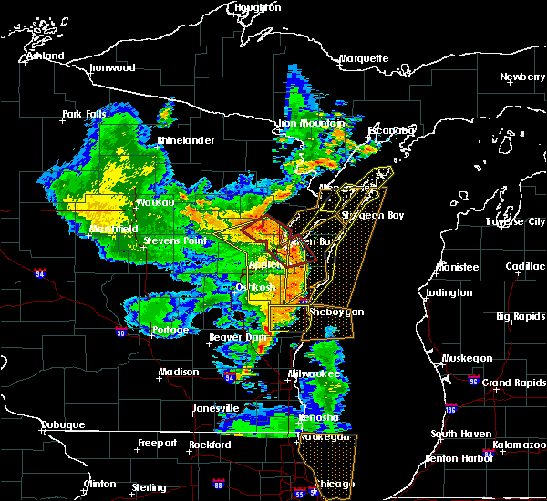 Radar Image for Severe Thunderstorms near Howard, WI at 6/14/2017 4:12 PM CDT