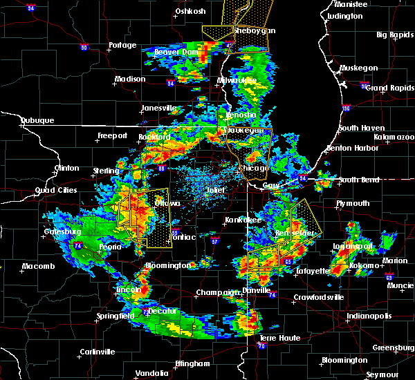 Radar Image for Severe Thunderstorms near Cornell, IL at 6/14/2017 4:25 PM CDT