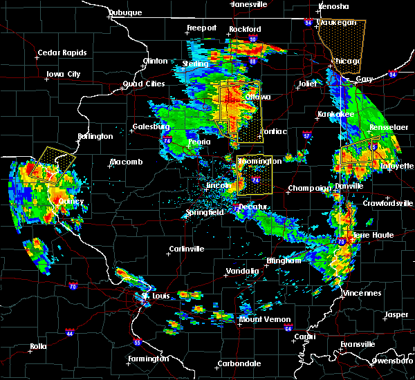 Radar Image for Severe Thunderstorms near Anchor, IL at 6/14/2017 4:34 PM CDT
