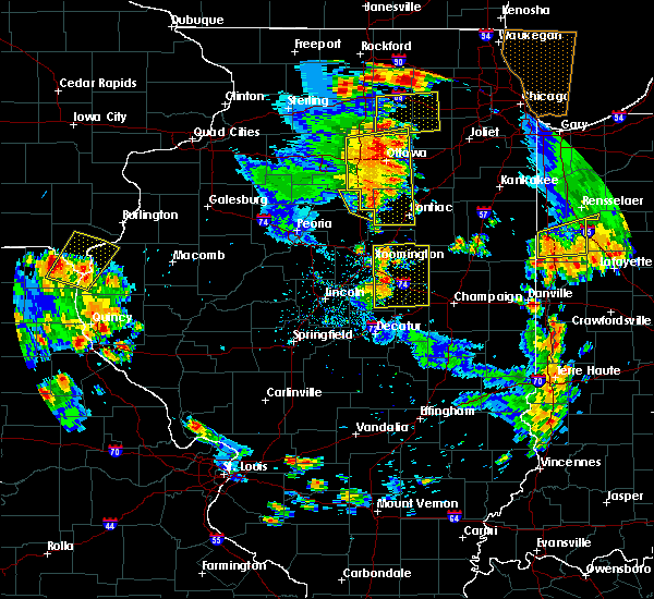Radar Image for Severe Thunderstorms near Wenona, IL at 6/14/2017 4:40 PM CDT