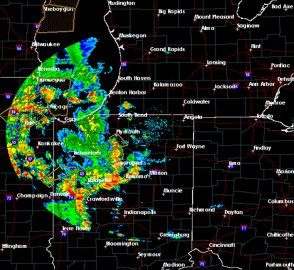 Radar Image for Severe Thunderstorms near Argos, IN at 6/14/2017 6:19 PM EDT