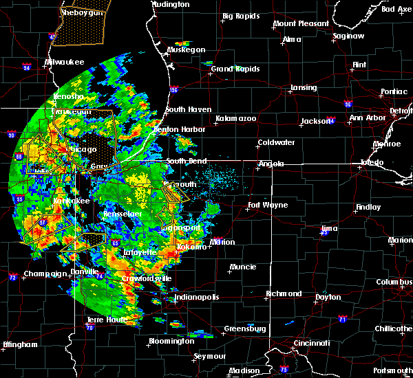 Radar Image for Severe Thunderstorms near Plymouth, IN at 6/14/2017 6:38 PM EDT