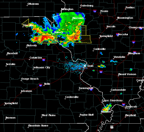 Radar Image for Severe Thunderstorms near Monroe City, MO at 6/14/2017 6:04 PM CDT