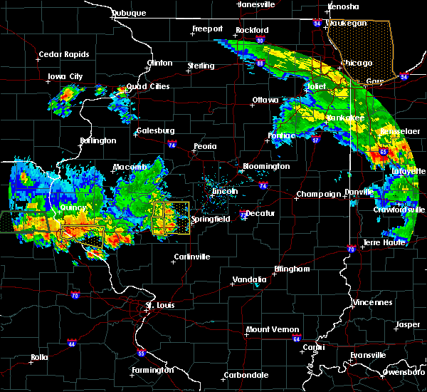 Radar Image for Severe Thunderstorms near Ashland, IL at 6/14/2017 6:47 PM CDT
