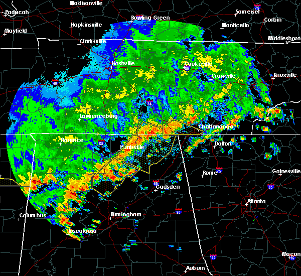 Radar Image for Severe Thunderstorms near Hytop, AL at 6/15/2017 2:10 PM CDT