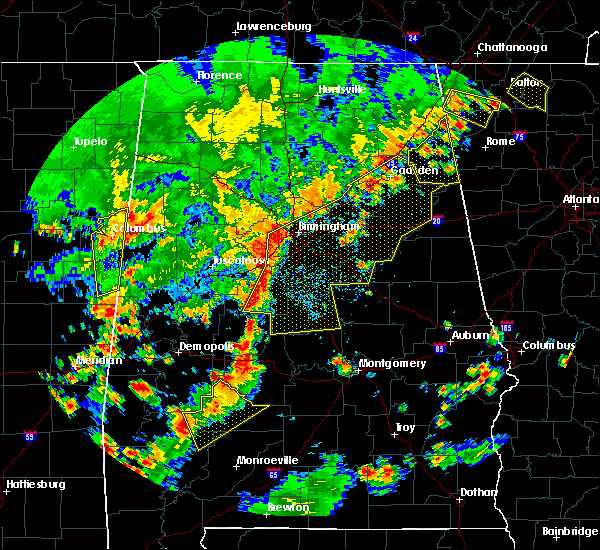 Radar Image for Severe Thunderstorms near Pell City, AL at 6/15/2017 3:18 PM CDT