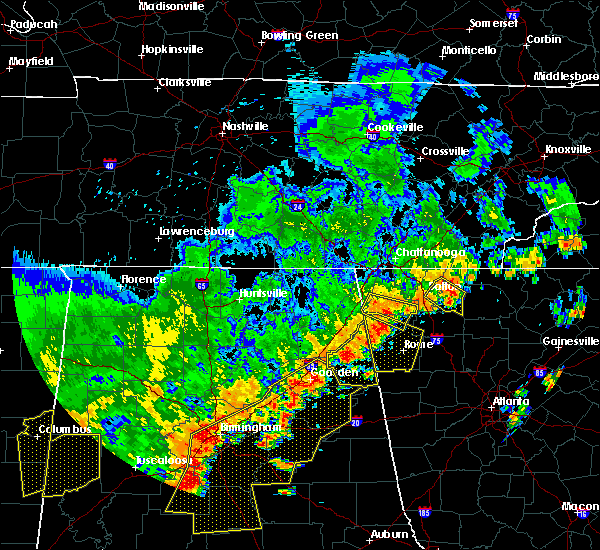 Radar Image for Severe Thunderstorms near Trion, GA at 6/15/2017 4:25 PM EDT