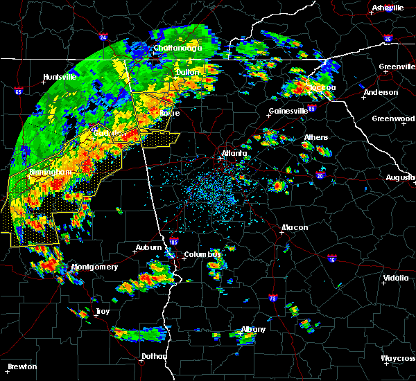 Radar Image for Severe Thunderstorms near Ballplay, AL at 6/15/2017 3:54 PM CDT