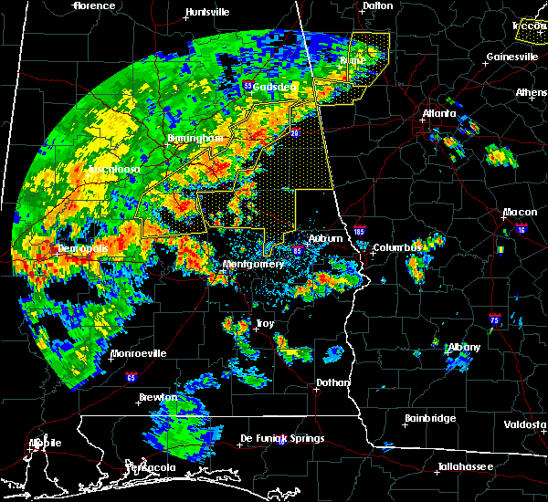 Radar Image for Severe Thunderstorms near Hissop, AL at 6/15/2017 4:16 PM CDT