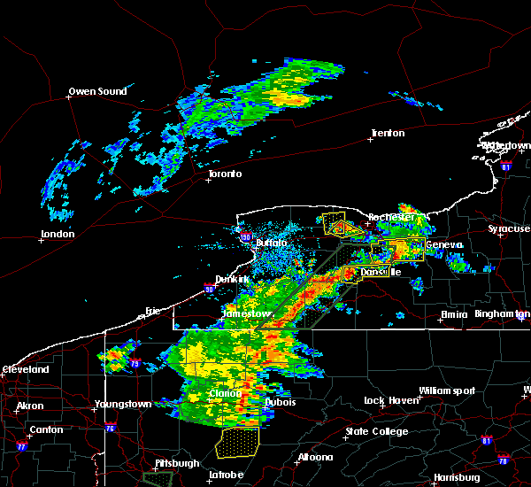 Radar Image for Severe Thunderstorms near Brighton, NY at 6/15/2017 5:29 PM EDT