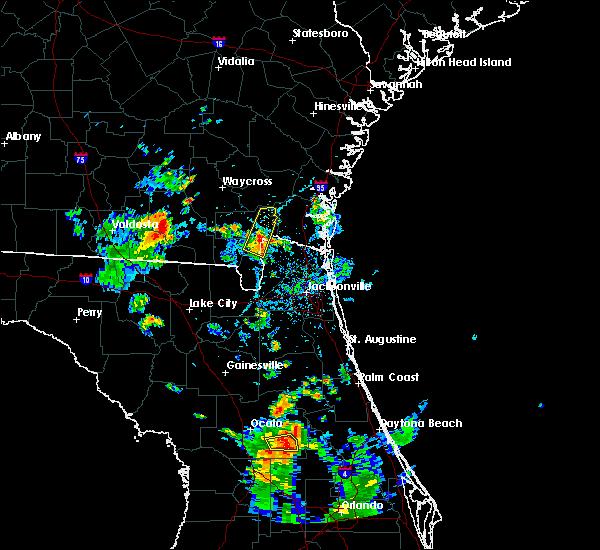 Radar Image for Severe Thunderstorms near Homeland, GA at 6/15/2017 5:32 PM EDT
