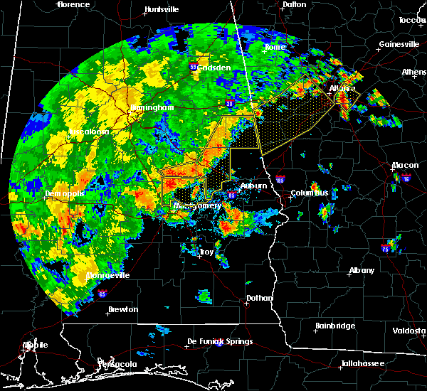 Radar Image for Severe Thunderstorms near Delta, AL at 6/15/2017 5:06 PM CDT