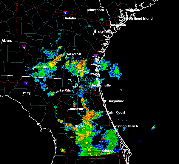 Radar Image for Severe Thunderstorms near Homeland, GA at 6/15/2017 6:12 PM EDT