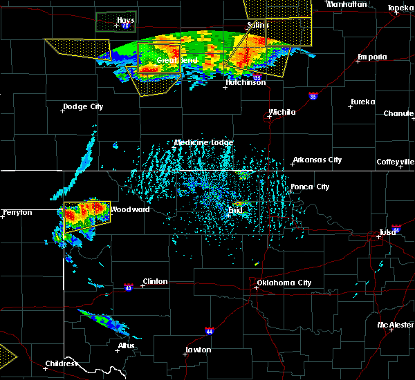 Radar Image for Severe Thunderstorms near Woodward, OK at 6/15/2017 5:32 PM CDT