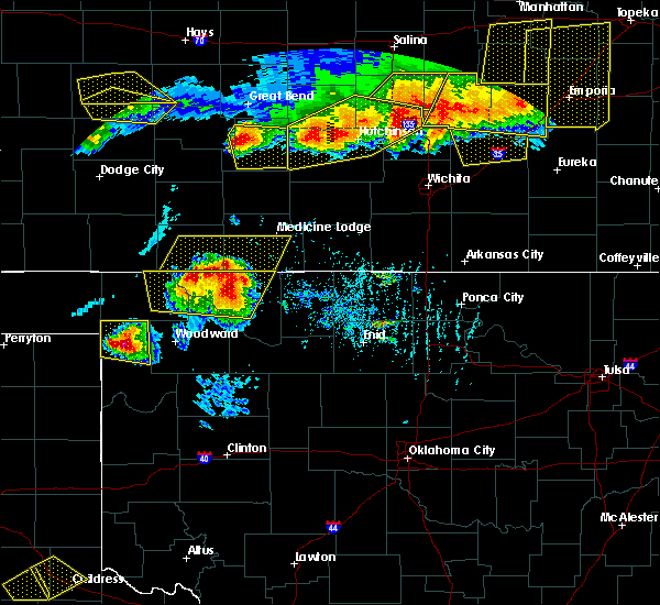 Radar Image for Severe Thunderstorms near Coldwater, KS at 6/15/2017 6:41 PM CDT
