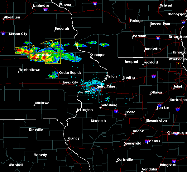 Radar Image for Severe Thunderstorms near Rowley, IA at 6/15/2017 7:25 PM CDT