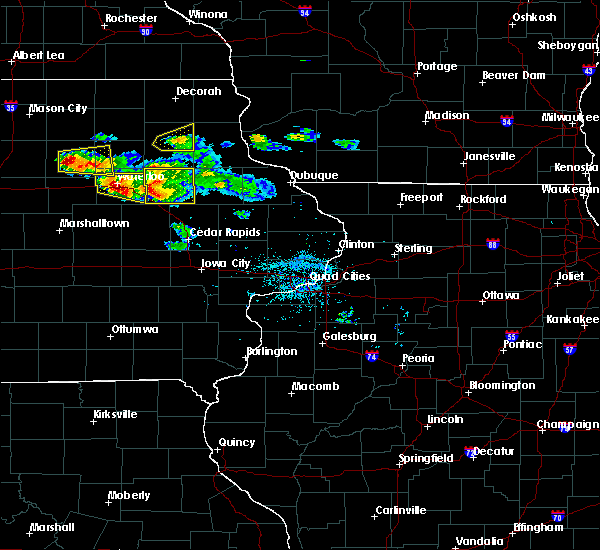 Radar Image for Severe Thunderstorms near Rowley, IA at 6/15/2017 7:34 PM CDT