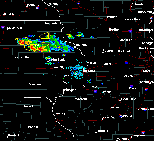 Radar Image for Severe Thunderstorms near Rowley, IA at 6/15/2017 7:42 PM CDT