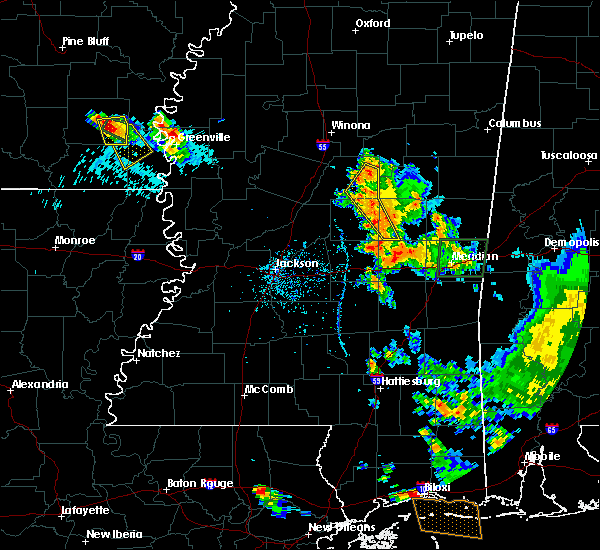 Radar Image for Severe Thunderstorms near Pearl River, MS at 6/15/2017 7:43 PM CDT