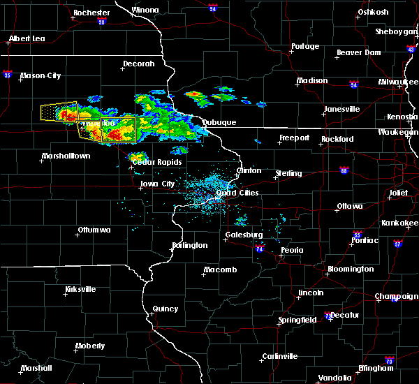 Radar Image for Severe Thunderstorms near Rowley, IA at 6/15/2017 7:49 PM CDT