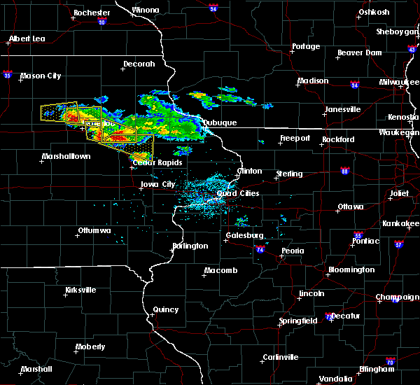 Radar Image for Severe Thunderstorms near Rowley, IA at 6/15/2017 7:56 PM CDT