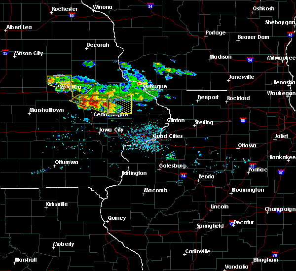 Radar Image for Severe Thunderstorms near Rowley, IA at 6/15/2017 8:19 PM CDT