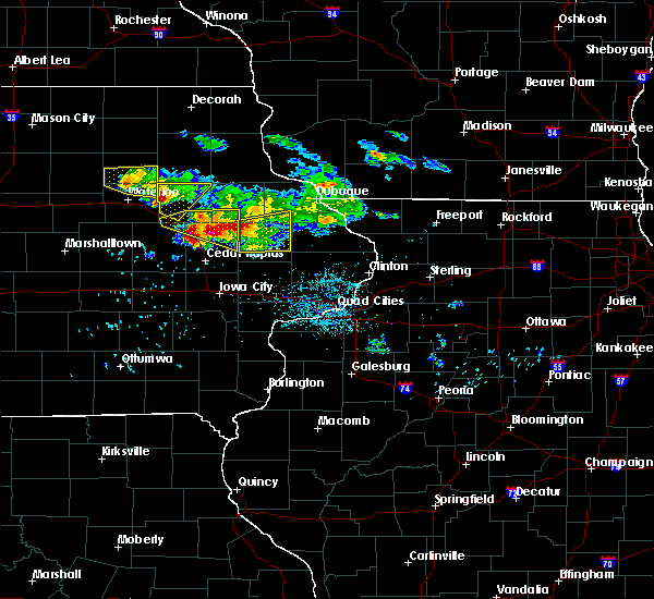 Radar Image for Severe Thunderstorms near Rowley, IA at 6/15/2017 8:29 PM CDT